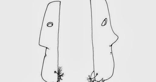 ENGLISH BUNGHOLE: MASKS, by Shel Silverstein