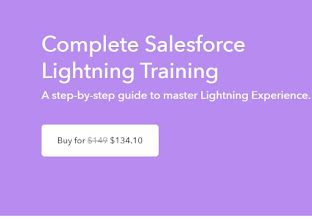 Complete Salesforce Lightning Training By Krishna Teja Karnam 👇