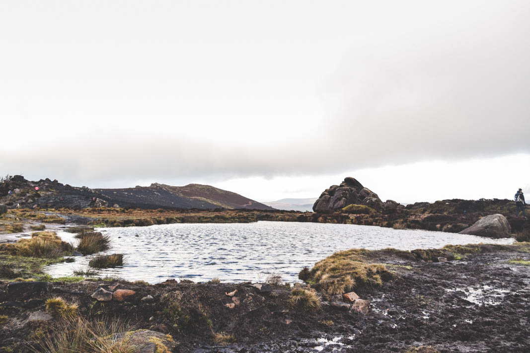 Doxey Pool at the roaches in the peak district