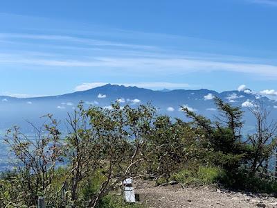 八ヶ岳と北岳