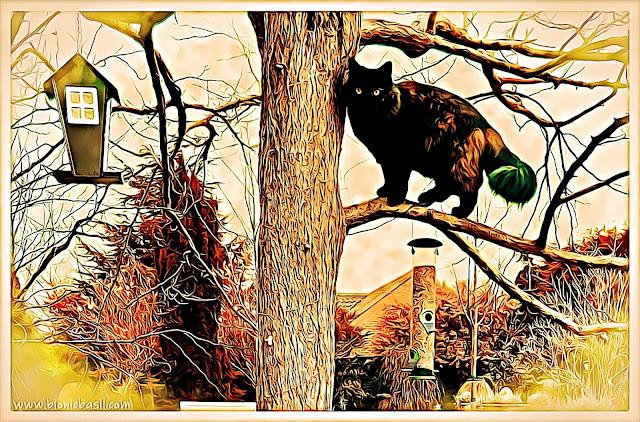 Pandora The Tree Inspector ©BionicBasil® Caturday Art