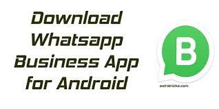 whatsapp business app download apk