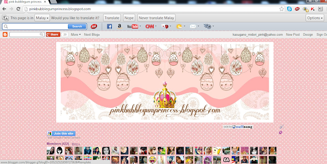 header blog kawaii pink girly