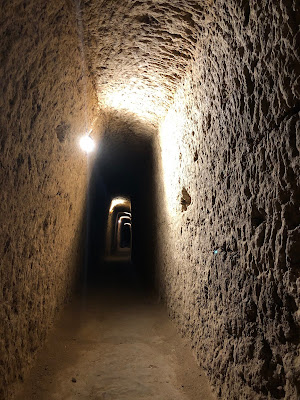 Beneath the earth in Kashan, lays one of the most dazzling excavations for travelers, the underground city of Nushabad.