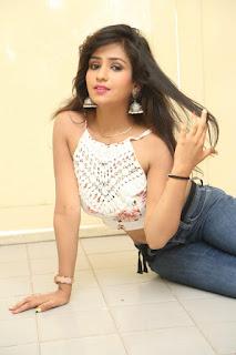 Deekshita Parvathi in a short crop top and Denim Jeans Spicy Pics Beautiful Actress Deekshita Parvathi January 2017 CelebxNext (182).JPG