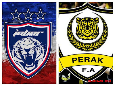 Live Streaming JDT FC vs Perak Separuh Akhir Piala Malaysia 21 Oktober 2017