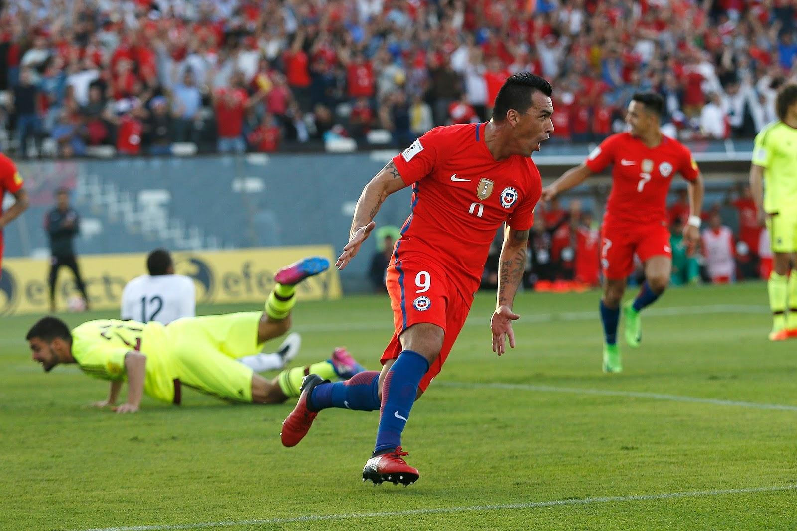 Chile y Venezuela en Clasificatorias a Rusia 2018, 28 de marzo de 2017