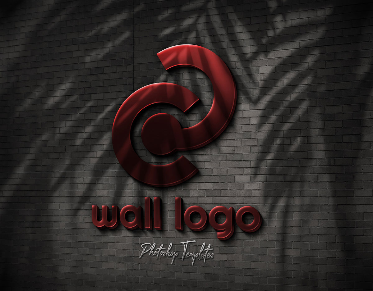 Wall Logo Sign Mockups 26496979  ..