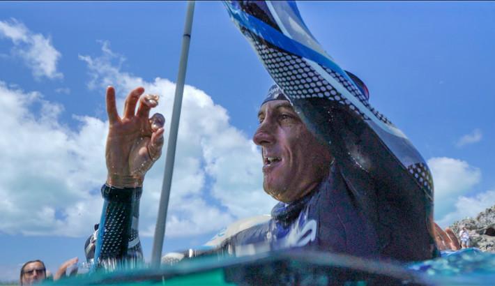 Recorde mundial do mergulhador William Trubridge