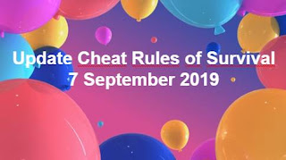 Link Download File Cheats Rules of Survival 7 September 2019