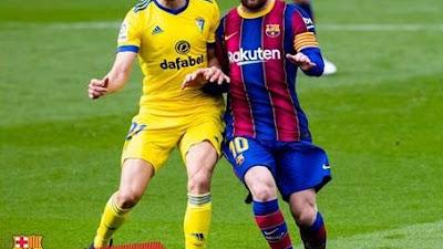 Barcelona di Tahan Cadiz Imbang 1-1, Popularitas Camp Nou Mulai Merosot