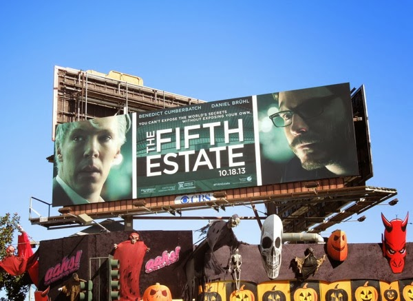 The Fifth Estate movie billboard