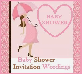 Sample Invitation Wordings Baby Shower