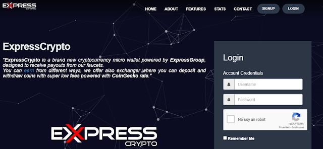 Expresscrypto pagina inicio