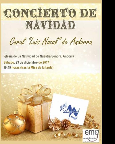 Concierto de Navidad de la Coral Luis Nozal