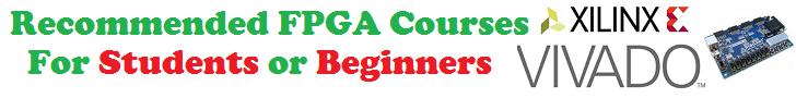 FPGA Verilog VHDL courses for students