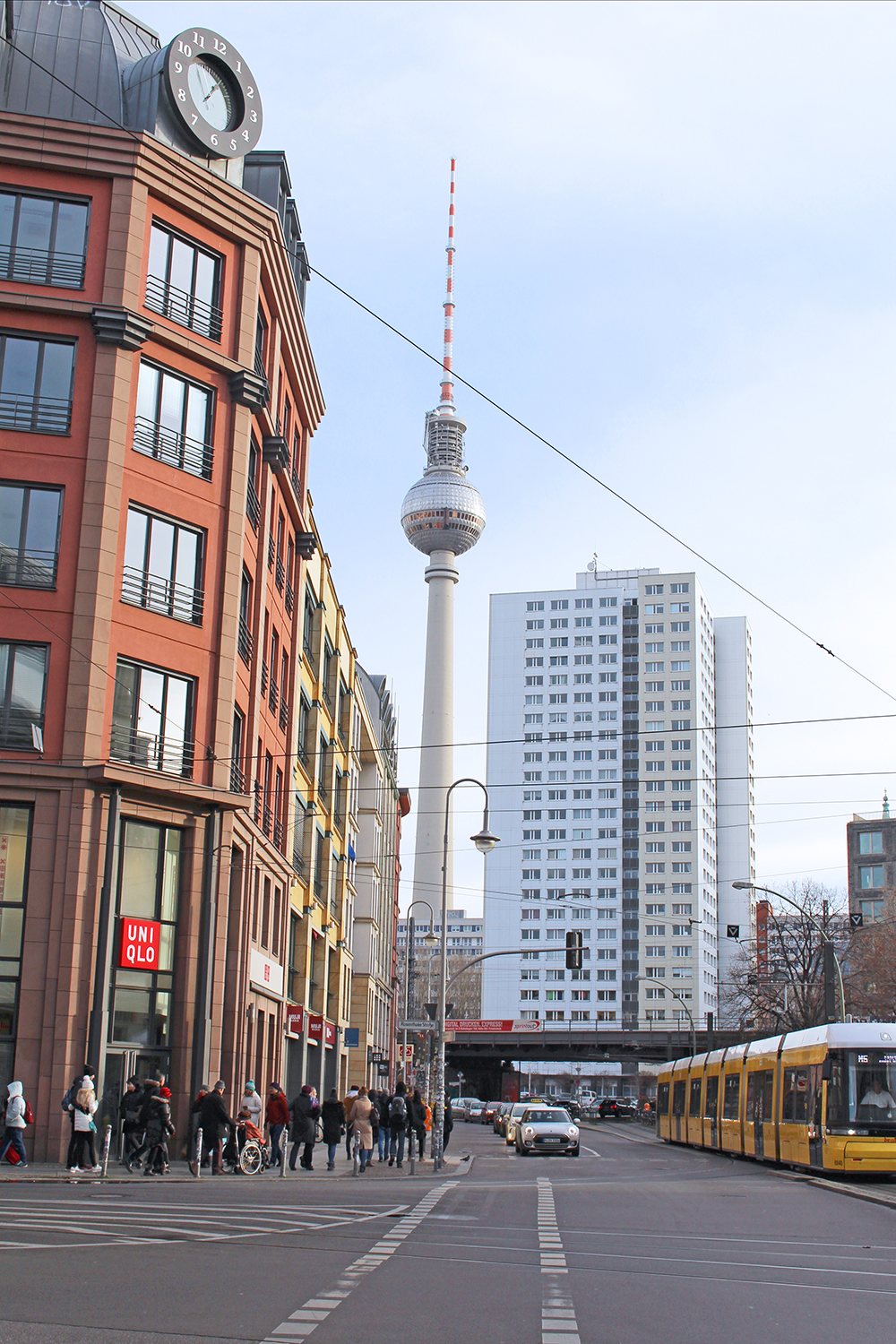 Berlin TV Tower on a cold winter's day - travel & lifestyle blog