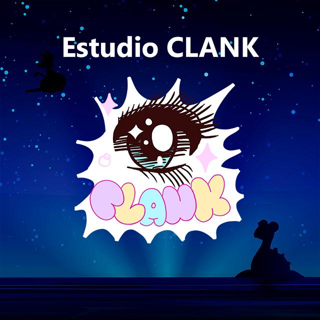 Imagen con el logotipo de Estudio CLANK