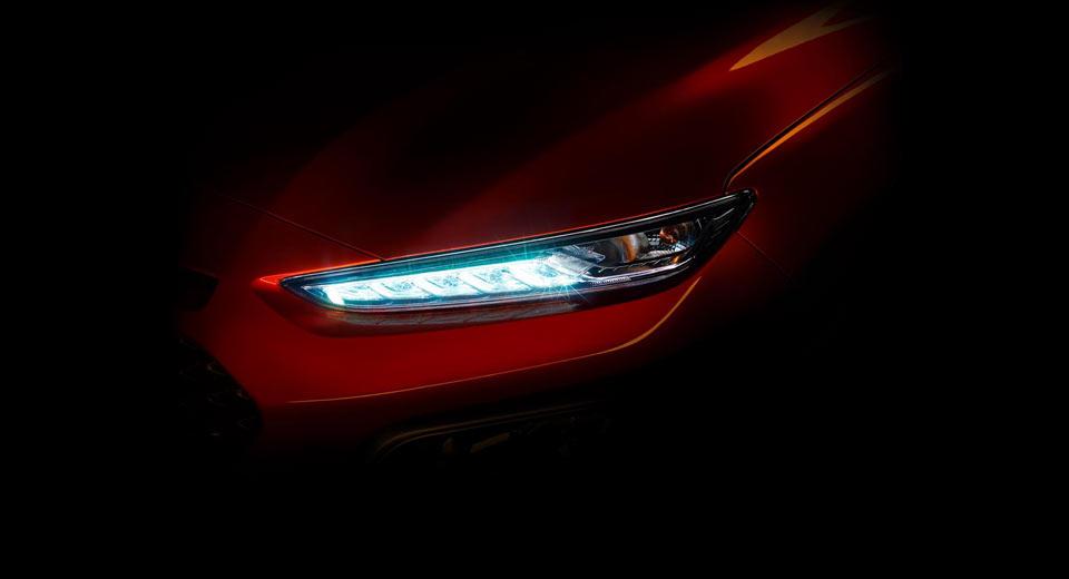 Hyundai Teases Kona Sub Compact Suv