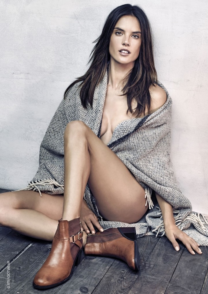 Alessandra Ambrosio – XTI Shoes Fall/Winter 2016 Campaign