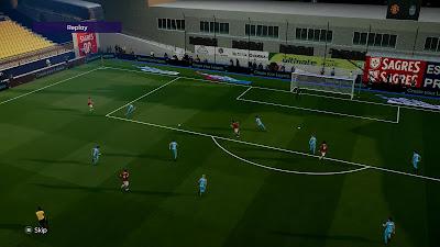 PES 2021 Stadium Mixed with Variety of Turfs & Lightning