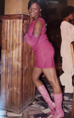 Thank God for the Change- Funke Akindele says as she shares her Throwback pictures (Photos)