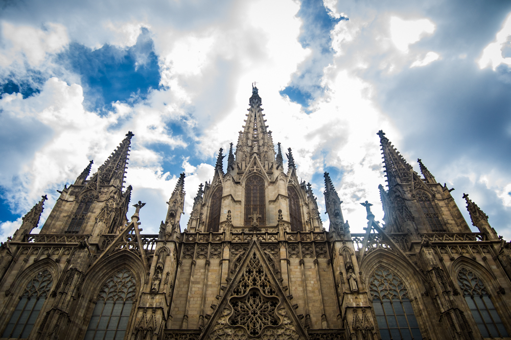 volver-Catedral de Barcelona