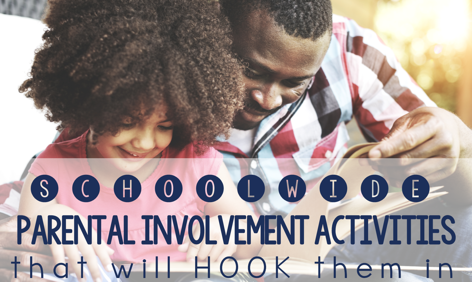 Looking for schoolwide parental involvement ideas? Check out this post for five ideas that will be a hit with all of your families.