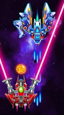 تحميل لعبة Galaxy Attack Alien Shooter مهكرة للاندرويد