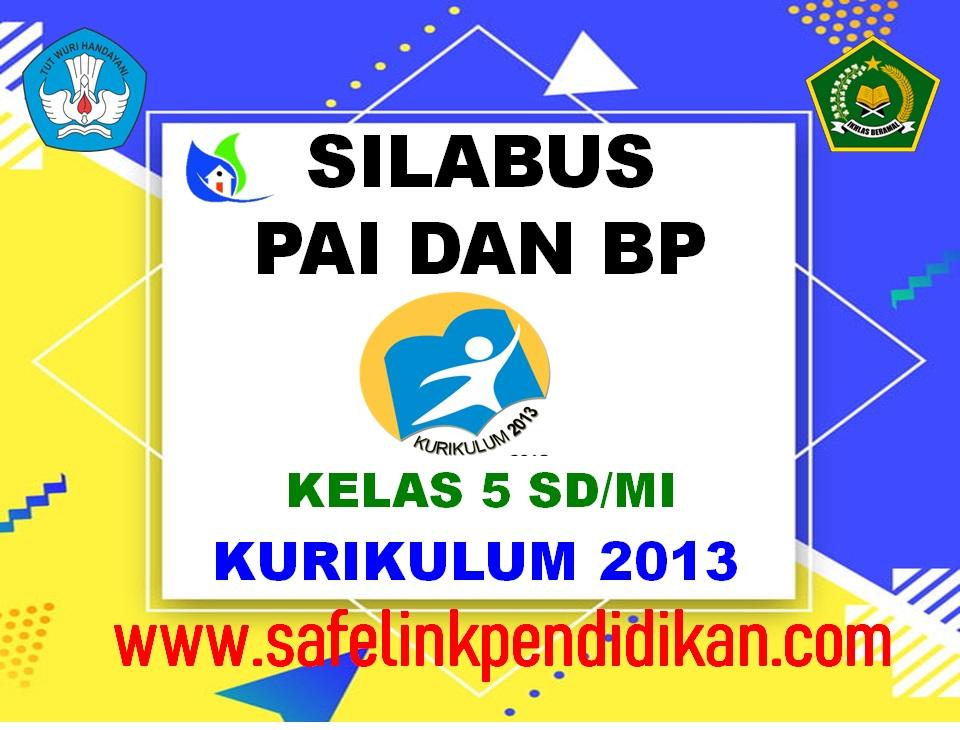 Silabus PAI Dan BP Kelas 5 SD/MI
