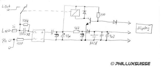 electronic life 230v zeitschaltuhr auf 12v betrieb umbauen. Black Bedroom Furniture Sets. Home Design Ideas