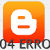 Mengalihkan Homepage Blogger Halaman 404 Eror