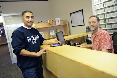 Image of Rio Salado staff at library