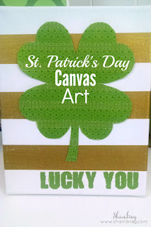 St. Patrick's Day Canvas