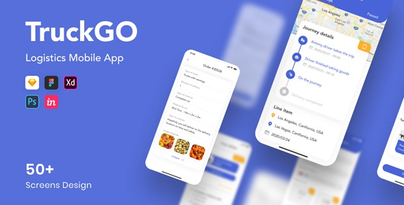 Logistics Mobile App Template
