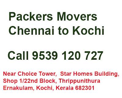 chennai to Kochi Movers