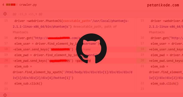 Github Remove Password