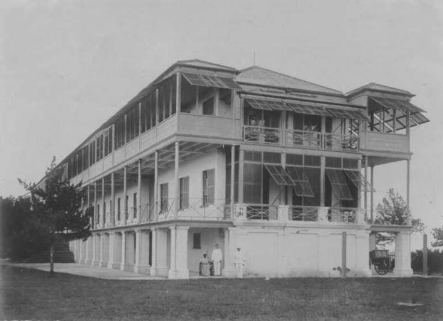 Royal Naval Hospital Bermuda after 1874