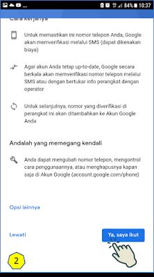 Cara 2 : Membuat Akun Gmail Melalui Aplikasi Gmail 11