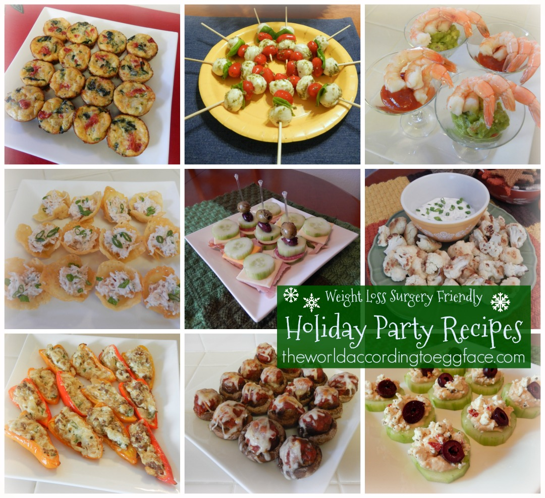 Theworldaccordingtoeggface healthy and easy holiday party recipes bariatric surgery weight loss gastric bypass vertical sleeve party food recipes cooking blog forumfinder Images