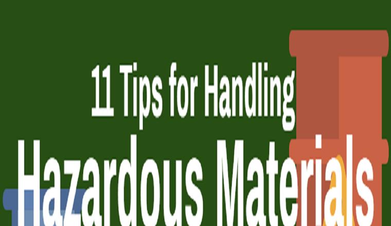 11 Tips for Handling Hazardous Materials #infographic