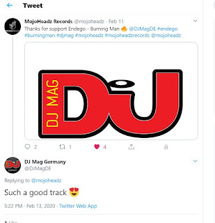 DJ MAG like MojoHeadz Records