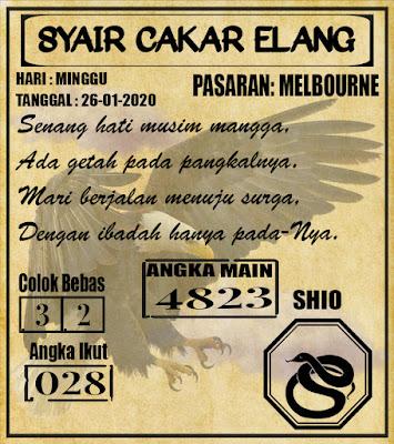 SYAIR MELBOURNE 26-01-2020