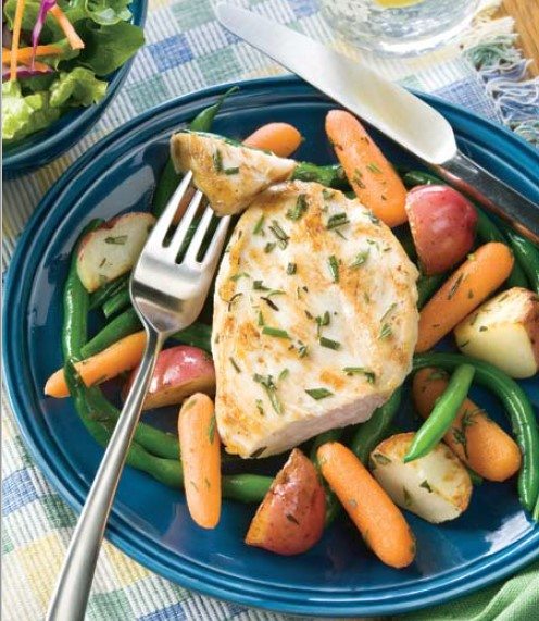 Rosemary Lemon Chicken with Vegetables