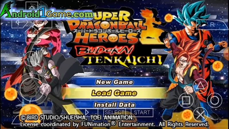 DBZ TTT Mod Heroes Tenkaichi Tag Team 2020 Download