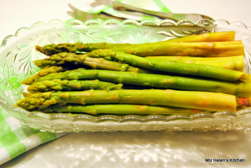 Roasted Lemon Asparagus