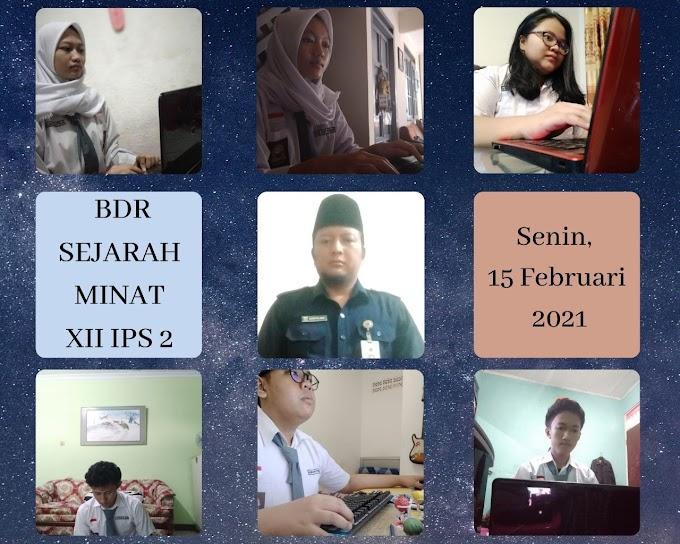 Sejarah 12 IPS 2 & 1 (22 Februari 2021)