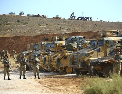 Turkish additional reinforcements to support terrorists in Idleb