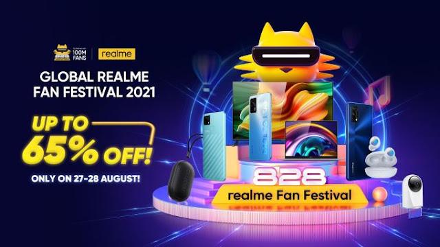 Realme Fans Festival 2021 on Shopee, Realme Fans Festival 2021, Realme Fans Festival, Realme, Fan Festivalm Shopee, Shopee Malaysia, Lifestyle