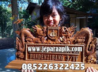 plakat kayu tentara TNI KODAM